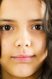 Portrait of the girl Stock Photos