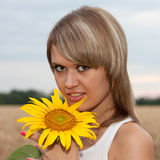 Portrait of a Girl Stock Image