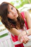 A portrait girl Stock Photos