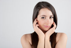 Portrait of a Girl Stock Images