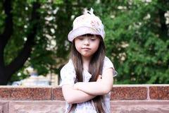 Portrait of girl. Portrait of the girl outside Stock Photo