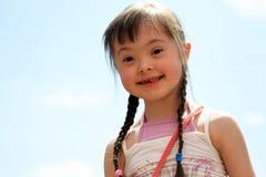 Portrait of girl Stock Photos