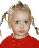 Portrait of the girl Stock Image