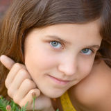 Portrait girl royalty free stock photo