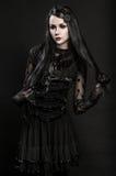 Portrait of girl-alien Royalty Free Stock Photo