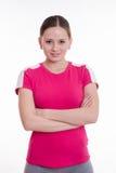 Portrait of girl athletes Stock Photos