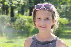 Portrait of a Girl Royalty Free Stock Photos