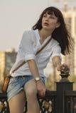 Portrait girl Stock Photography