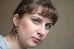 Portrait of the girl Stock Images