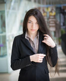 Portrait of a girl. Royalty Free Stock Photo