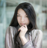 Portrait of a girl. Royalty Free Stock Photos