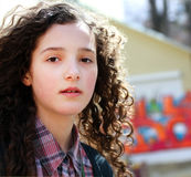 Portrait of girl Stock Images