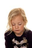 Portrait of a girl. Child's head. Royalty Free Stock Images
