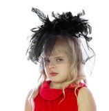 Portrait of a girl in a hat. Royalty Free Stock Photos