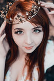 Portrait of the girl royalty free stock photo