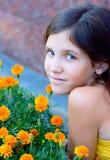 Portrait Girl Outdoor Stock Images