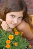 Portrait Girl Outdoor Stock Photo