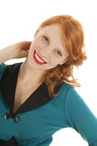 Portrait girl with red hair Stock Photography
