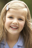 Portrait Of Girl Smiling Stock Photos
