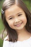 Portrait Of Girl Smiling Royalty Free Stock Images