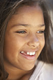 Portrait Of Girl Smiling Stock Image