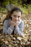 Portrait of a girl Royalty Free Stock Photo