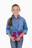 Portrait of a girl standing up Stock Photo