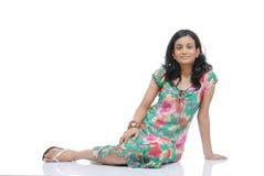 Portrait of Girl in Studio. Portrait of Indian girl in studio Royalty Free Stock Photography