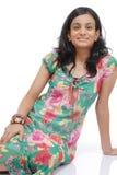 Portrait of Girl in Studio. Portrait of Indian girl in studio Royalty Free Stock Photos