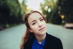Portrait of a girl. Portrait of a very beautiful girl, portrait Royalty Free Stock Image