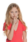 Keep silence! Royalty Free Stock Photos