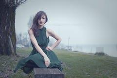 Winter portrait Stock Photography