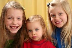 Portrait girls Stock Images