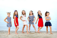 Portrait of girls Stock Photo