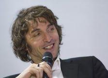 Portrait giuseppe cruciani Stock Photo