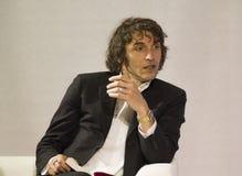 Portrait giuseppe cruciani Stock Image