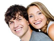 Portrait glücklichen Leute stockbild