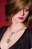 Portrait of glamorous girl Royalty Free Stock Image