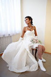 Portrait glamour bride Royalty Free Stock Photos