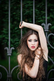 Portrait of glamour woman Royalty Free Stock Photography