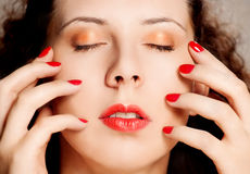 Portrait of glamour woman Stock Photography