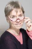Portrait with glasses Stock Photo
