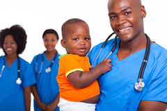 African pediatric boy Stock Photo