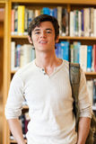 Portrait of a good looking student standing up Stock Photos