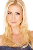 Portrait of a gorgeous blond lady Royalty Free Stock Photos