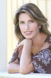 Portrait of a gorgeous Caucasian female Royalty Free Stock Photos