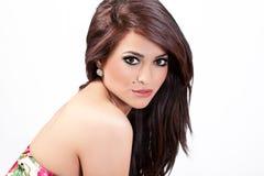 Portrait of gorgeous confident woman Stock Photo