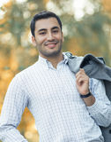 Portrait of gorgeous young attractive man Royalty Free Stock Photography