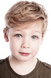 Portrait of Gorgeous Young Boy. Stock Images