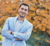 Portrait of gorgeous young man Royalty Free Stock Image